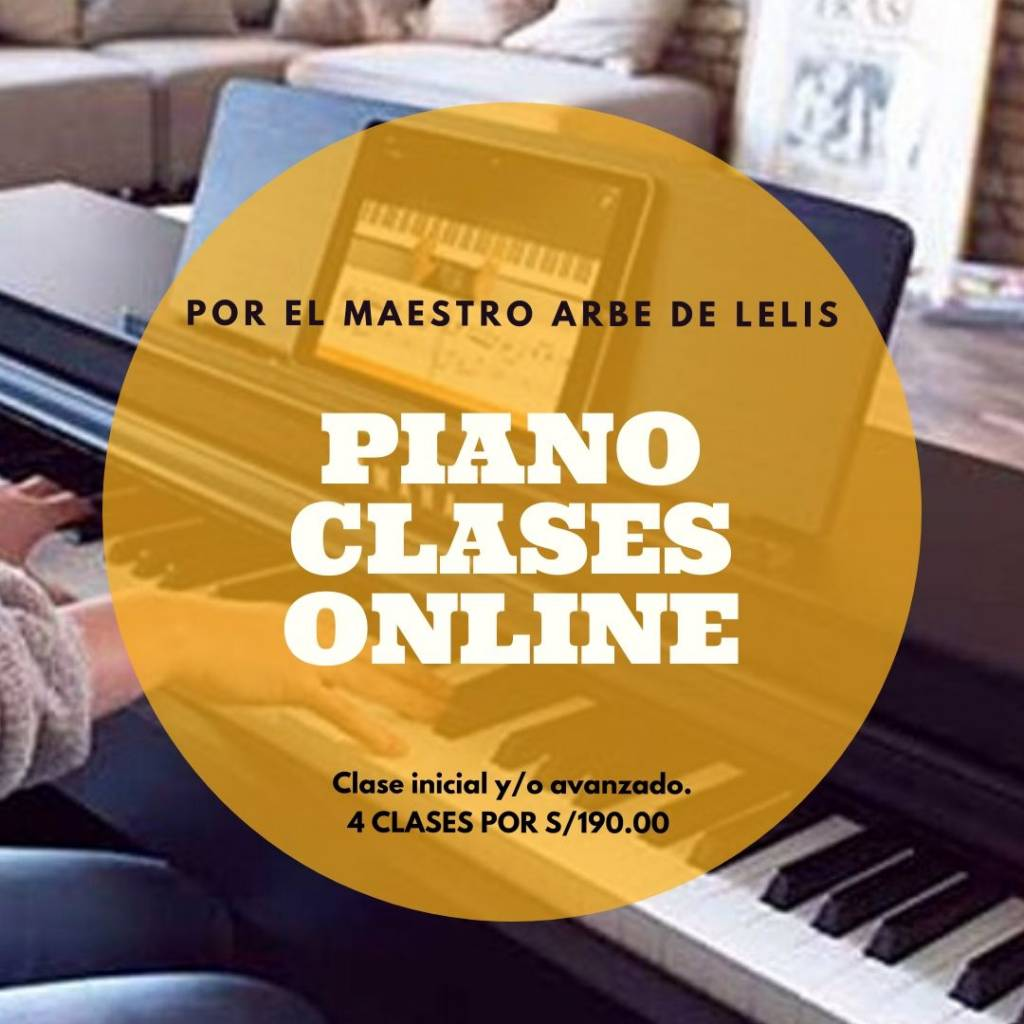 Piano Clases Online